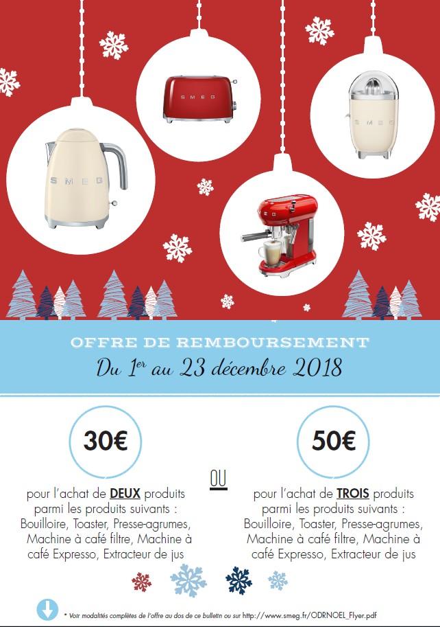 30€ REMBOURSES POUR L'ACHAT DE 2 PRODUITS OU 50€ REMBOURSES POUR L'ACHAT DE 3 PRODUITS