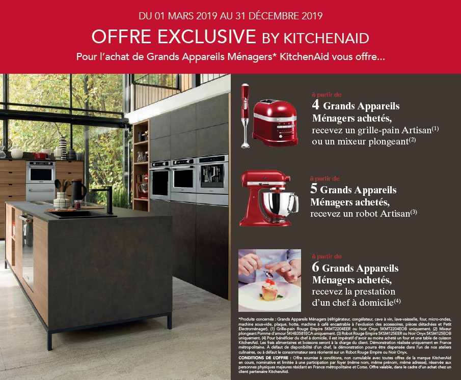 OFFRE EXLUSIVE BY KITCHENAID