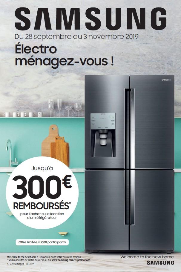 JUSQU'A 300€ REMBOURSES POUR L'ACHAT OU LA LOCATION D'UN REFRIGERATEUR